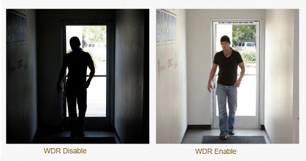 Funzione WDR